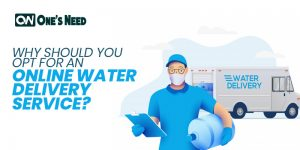 Why Should You Opt for an Online Water Delivery Service?