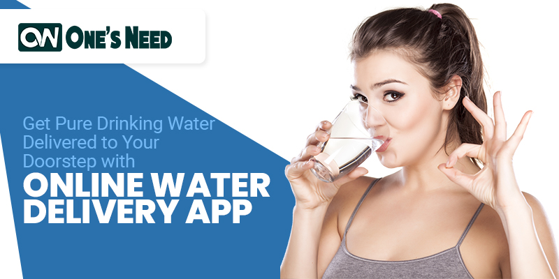 Get Pure Drinking Water Delivered to Your Doorstep with Online Water Delivery App