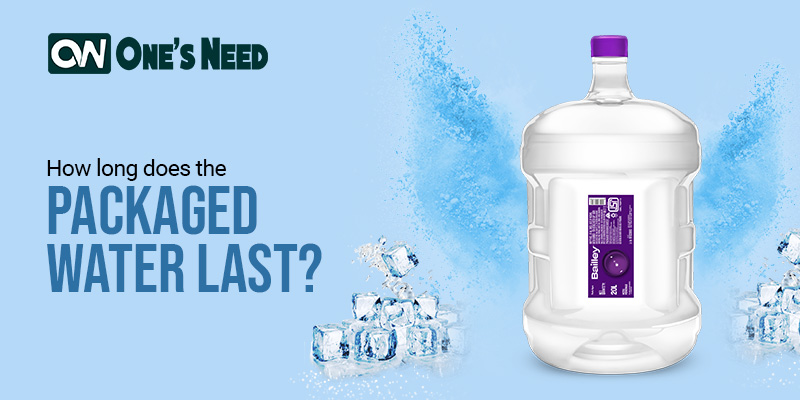 How long does the Packaged Water last?