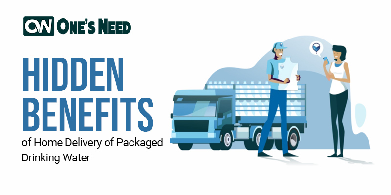 Hidden Benefits of Home Delivery of Packaged Drinking Water