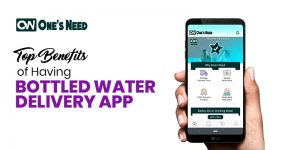 Top Benefits of Having a Bottled Water Delivery App