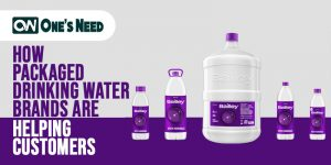 How Packaged Drinking Water Brands are Helping Customers?